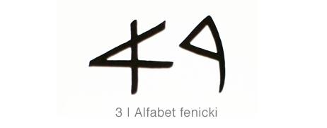 Alfabet fenicki